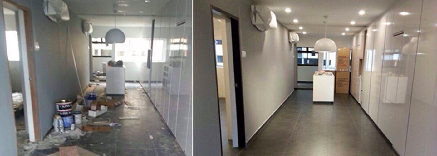 Jasa Bersih Kantor Pasca Renovasi